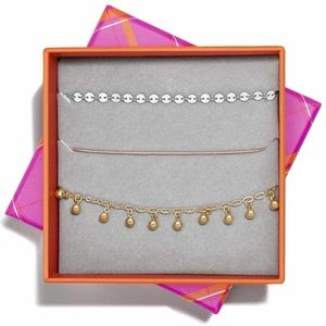 New in box BaubleBar Astoria Bracelet Set